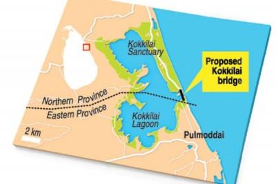 ?????  முல்லைத்தீவு – திருகோணமலையை இணைக்க கொக்கிளாய் கடல்நீரேரியில் பாலம் Kokkilai Map e1549847663599