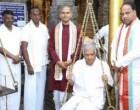 துலாபார நேர்த்திக்கடனை செலுத்திய பிரதமர்