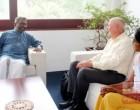சுவிஸ் அரசாங்கத்தின் பிரதிநிதி – யாழ் ஆளுநர் சந்திப்பு