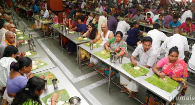 தினமும் 60,000 பேருக்கு உணவு- ஆசியாவின் பிரமாண்ட அன்னதானக்கூடம், திருப்பதி!