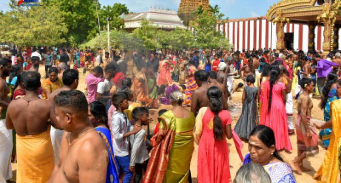 நல்லூர் கந்தன் ஆலய  கொடியேற்றம் இன்று- (வீடியோ)