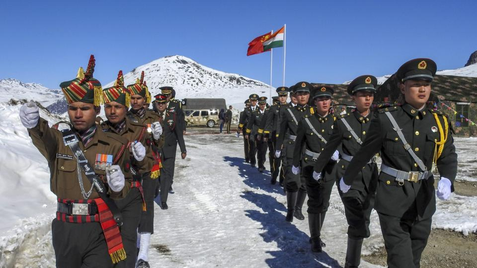 indian-and-chinese-soldiers-celebrate-new-year_7aadc2be-175e-11e9-a284-061f95944840  சீன ஆக்கிரமிப்பு காஷ்மீரின் தற்போதைய நிலை என்ன? indian and chinese soldiers celebrate new year 7aadc2be 175e 11e9 a284 061f95944840