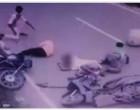 'அசுர வேகத்தில் வந்த இருசக்கர வாகனம்'.. 'நேருக்கு நேர் மோதி கோர விபத்து'.. 'பதற வைக்கும் சிசிடிவி காட்சிகள்'..