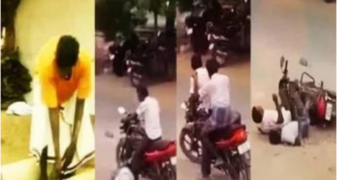 'வைரலாகும் போதை ஆசாமியின்'.. 'வடிவேலு காமெடி வீடியோ