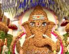 9 ஆயிரம் தேங்காய்களில் உருவான விநாயகர் சிலை..!