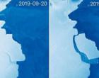 அண்டார்டிகாவில் குட்டி போட்ட பனிப்பாறை: 50 ஆண்டுகளில் இல்லாத அளவு பெரிய அதிசயம்