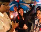 புலிகளின் ஆதரவாளர்கள் கைது – கணவர்களை விடுவிக்க பெண்கள் போராட்டம்