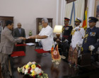 ஜனாதிபதி கோத்தாபய ராஜபக்ஷ முன்னிலையில்  6 புதிய ஆளுநர்கள் பதவியேற்பு