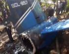 இலங்கை விமான விபத்தில் 4 பேர் உயிரிழப்பு