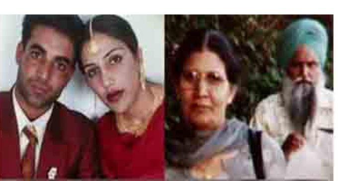 பஞ்சாப் பெண் ஆணவக் கொலை புகார்: கனடாவில் இருந்த தாய் இந்தியாவுக்கு நாடு கடத்தல்