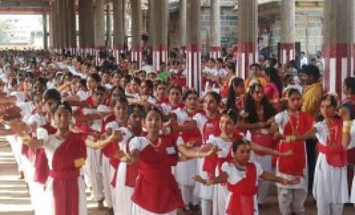 7,195 கலைஞர்கள் – சிதம்பரத்தில் கின்னஸ் சாதனைப் பரத நாட்டிய நிகழ்ச்சி!