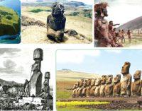 யாருமற்ற தீவில் 887 சிலைகள்..!:ஒரு பூர்வீகக்குடி இனம் அழிந்த துயரக் கதை இது