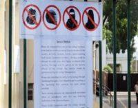 சாஹிரா கல்லூரியில் முகத்தை மூடும் ஆடைகளுக்கு தடை