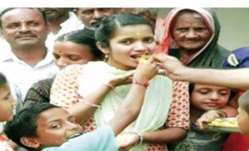 இந்திய ராணுவத்திற்கு தேர்வான கல்லூரி மாணவி