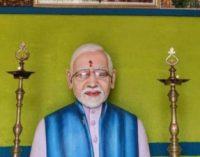 நரேந்திர மோதிக்கு கோயில் கட்டிய திருச்சி விவசாயி