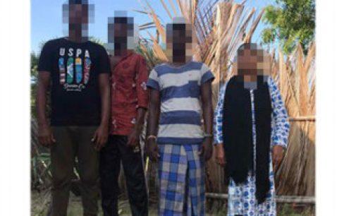 சட்டவிரோதமாக இந்தியாவிலிருந்து இலங்கை வந்த 5 அகதிகள் கைது