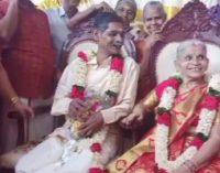 65 வயதில் பால்ய நண்பரை கரம்பிடித்த மூதாட்டி! கேரளாவில் ஒரு நெகிழ்ச்சியான திருமணம்