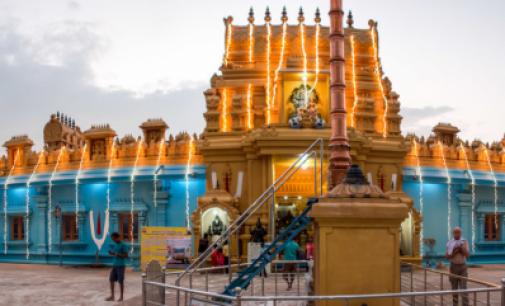 இந்திய பூசகர், உதவியாளர், கோவில் வளாகம், தூக்கிட்டு தற்கொலை