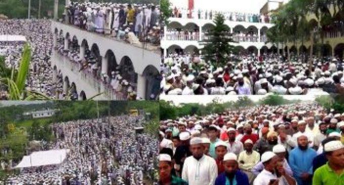 கொரோனா பரவலுக்கு மத்தியில் அலையெனத் திரண்ட 100,000 இற்கும் மேற்பட்ட மக்கள்!