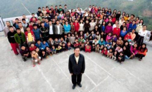 39 மனைவிகள்.! 94 குழந்தைகள்.! மொத்தம் 181 பேருடன் ஒரே வீட்டில் வாழும் இந்தியர்.! அசைக்க முடியாத சாதனை