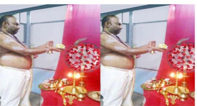 கேரளாவில் கொரோனா தேவி ஆலயம்- சிறப்பு பூஜை செய்து வழிபாடு நடத்தும் விநோதம்