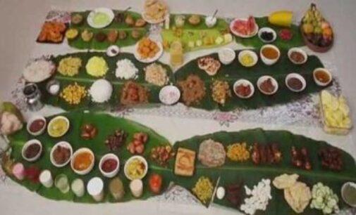 வீட்டுக்கு வந்த புது மருமகளுக்கு 101 வகையான உணவுகளுடன் விருந்தளித்த மாமியார்