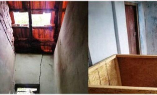 வீட்டுக்கூரையை பிரித்து உள்ளே நுழைந்த நபர் மடக்கிப்பிடிப்பு