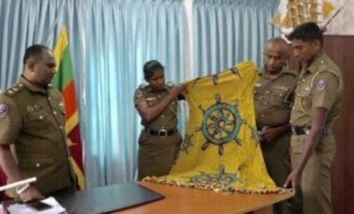 இலங்கை: தர்மச்சக்கர ஆடை வழக்கில் இருந்து விடுவிக்கப்பட்டார் மஸாஹிமா