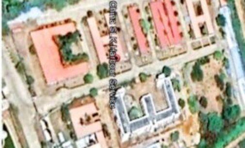 பரபரப்பை ஏற்படுத்திய சீனா என்ற வார்த்தை வடிவிலான ஹம்பாந்தோட்டை கட்டிடம்