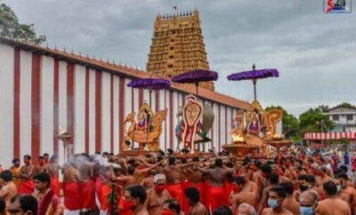 நல்லூர் கந்தசுவாமி கோவில் 12ம் திருவிழா!- (வீடியோ)