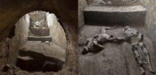 2000 ஆண்டுகளுக்கு முன் எரிமலை வெடிப்பில் சிக்கி ரோமப் பேரரசின் ஆண்டான் – அடிமை உடல்கள் கண்டுபிடிப்பு