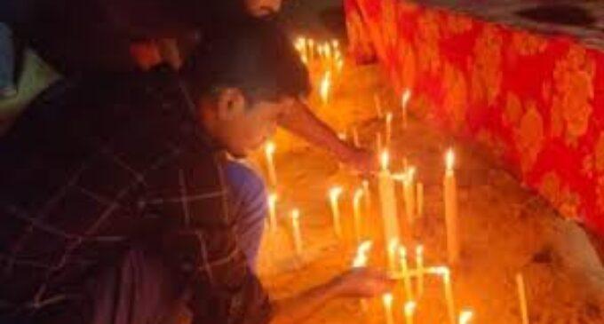 மாவீரர் தினம்  நினைவேந்தல் தினத்தை முன்னிட்டு ராமேஸ்வரத்தில் அஞ்சலி!