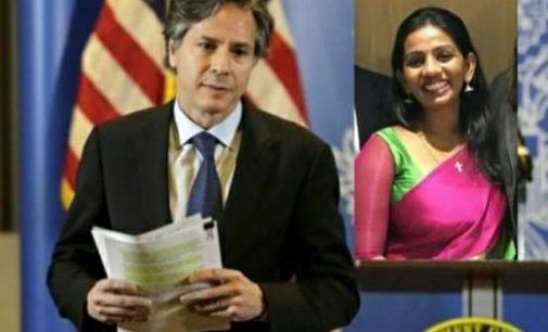 சர்வதேச துணிச்சல்மிக்க பெண்' அமெரிக்க விருது பெற்ற இலங்கைப் பெண்