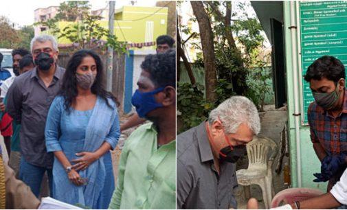 காலையிலேயே கடுப்பாக்கிய ரசிகர்.. கோபமாக போனை பிடுங்கிய அஜித்.. வாக்குப்பதிவு மையத்தில் நடந்தது என்ன?