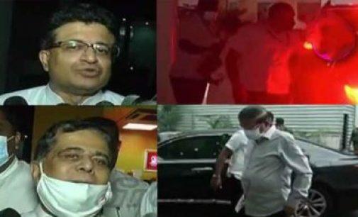 மைத்திரி, விமல், கம்மன்பில உள்ளிட்ட முக்கிய அரசியல்வாதிகள் இணைந்து ஸ்ரீலங்கா சுதந்திரக் கட்சி தலைமையகத்தில் மந்திர ஆலோசனை