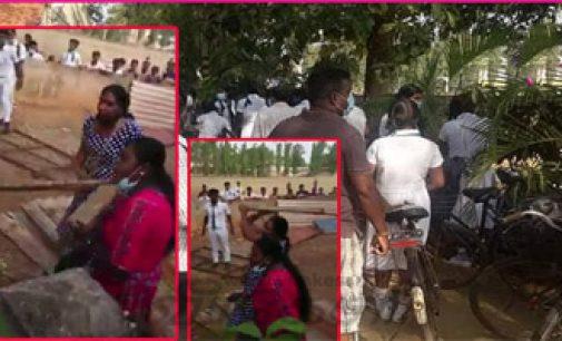 யாழில் பாடசாலையொன்றுக்குள் புகுந்த கும்பல் மாணவர்கள் மீது தாக்குதல்